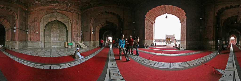 Jama Masjid Inside View 360 Panorama   360Cities