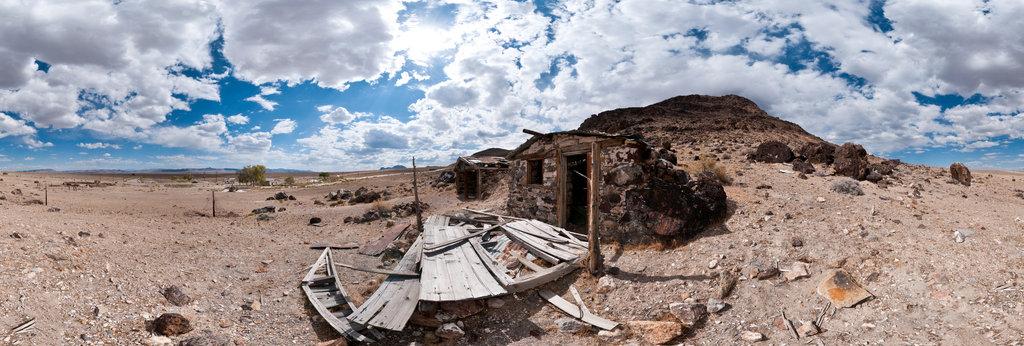 Stone Cabin, Warm Springs, Nevada 360 Panorama | 360Cities