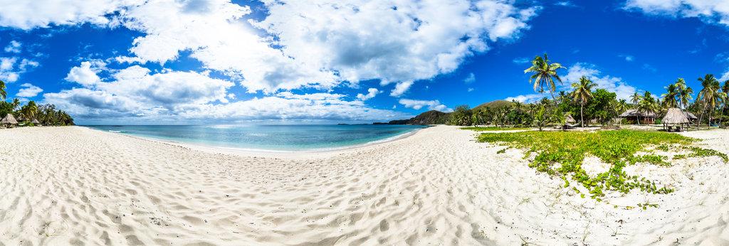 Deluxe Beach From Yasawa Island Resort And Spa Yasawa