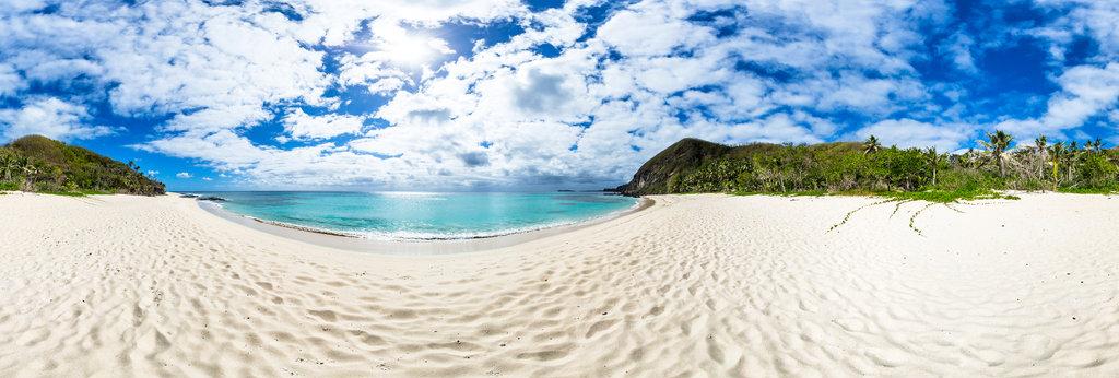 Beach From The Honeymoon Bure At Yasawa Island Resort And