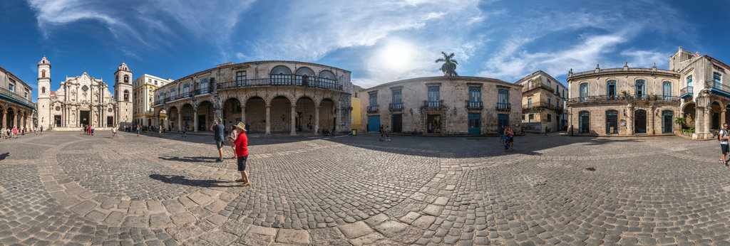 Plaza de la Catedral , Havanna 360 Panorama