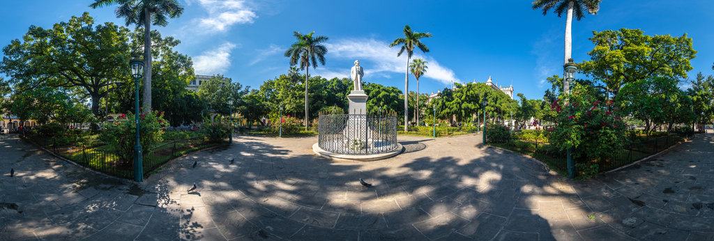 Plaza de Armas , Havanna 360 Panorama
