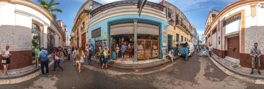 Empedrado , La Habana , Kuba 360 Panorama