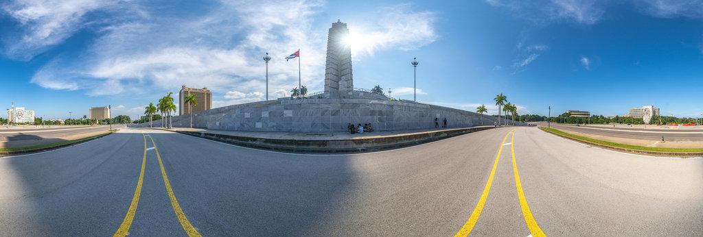 José Martí Memorial , Havanna 360 Panorama