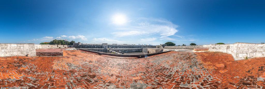 Castillo San Carlos de la Cabaña 360 Panorama