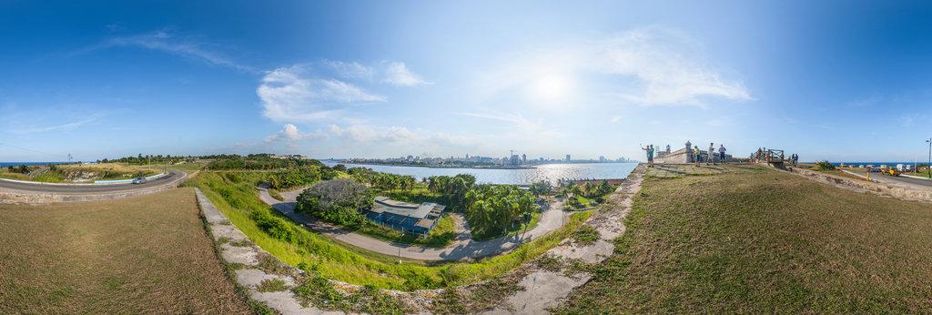 Castillo de los Tres Reyes del Morro , Havanna 360 Panorama