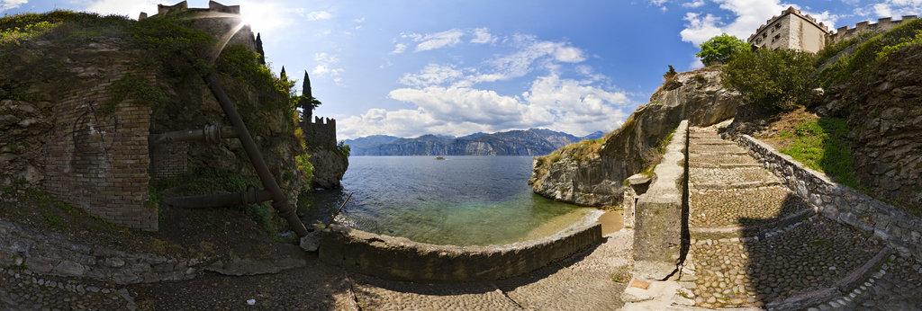 Porto Posterno, Malcesine, Lago di Garda, Italy