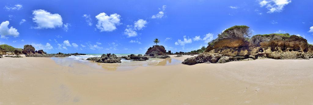 Tambaba Beach #1, near Joao Pessoa, Paraiba, Brazil