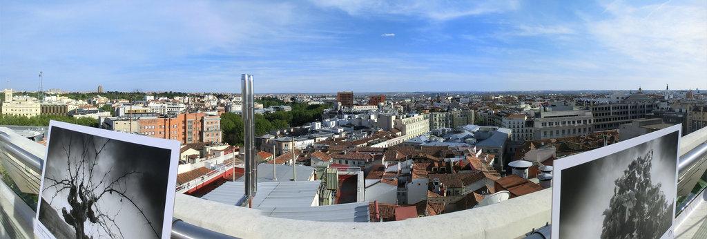 Azotea Del Círculo De Bellas Artes Madrid 360 Panorama