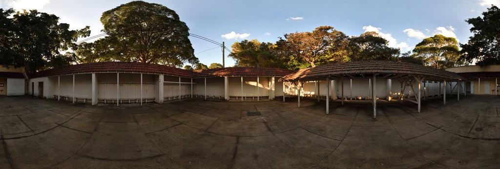 Nielsen Park Dressing Pavilion (1932) - Mens Area 360 Panorama