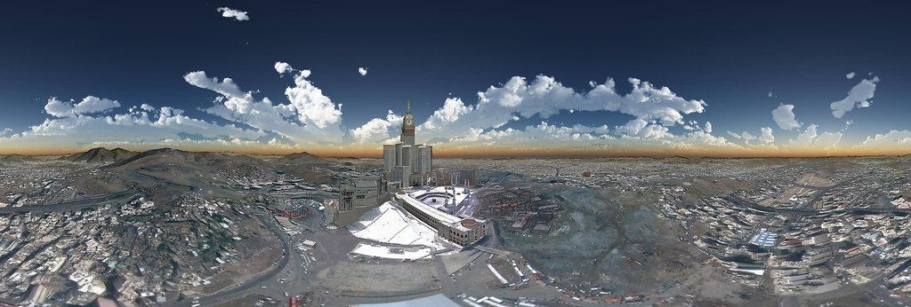 Makkah Al Mokaramah مكة المكرمة 360 Panorama 360cities