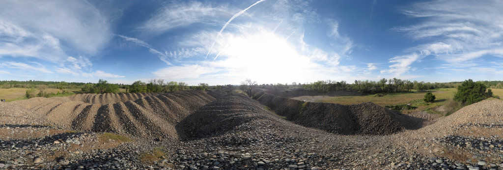 Mississippi Bar dredge tailings 360 Panorama | 360Cities