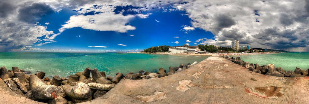 Varna Beach 360 Panorama 360cities