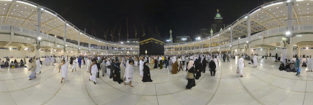 Al Masjid al-Haram ( Al-Haram Mosque ) 360 Panorama   360Cities